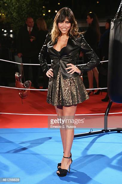 Emanuela Tittocchia attends the 'Grudge Match' premiere at The Space Moderno on January 7 2014 in Rome Italy