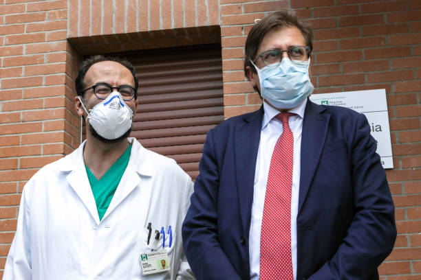 ITA: Inauguration Of The New Intensive Care Unit At Sacco Hospital In Milan