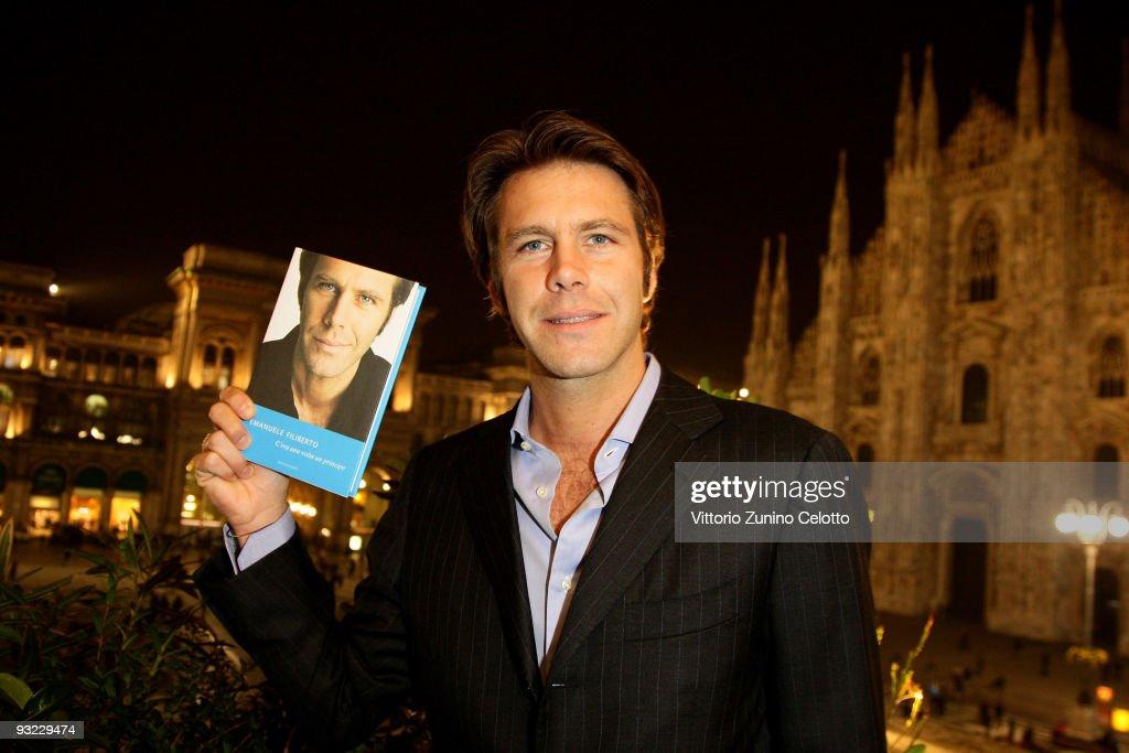 Emanuele Filiberto Of Savoia Book Launch