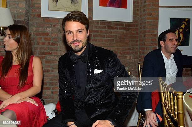 Emanuele Fiore attends Leesa Rowland Ramona Singer R Couri Hay Cornelia Guest Salute Animal Ashram @ Chez Couri at Chez Couri on December 19 2016 in...