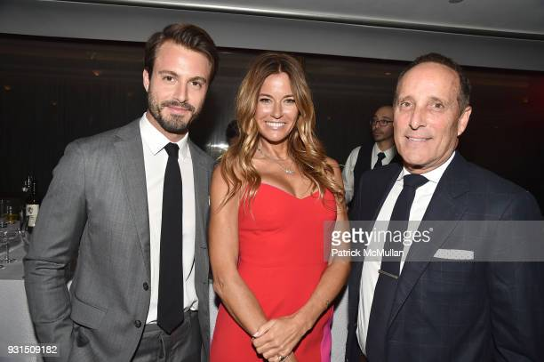 Emanuele Fiore Kelly Killoren Bensimon and Richard Steinberg attend the Guild Hall's 33rd Annual Academy of the Arts Awards at The Rainbow Room on...