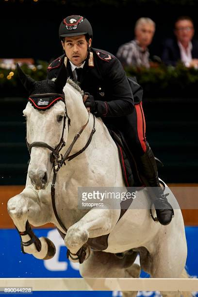 Emanuele Gaudiano attends during CSI Casas Novas Horse Jumping Competition on December 10 2017 in A Coruna Spain