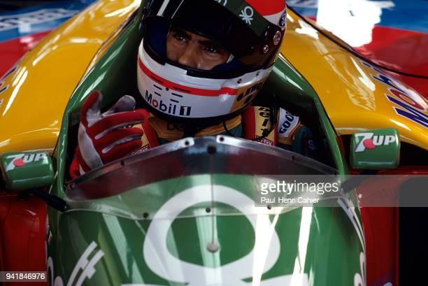 Emanuele Pirro BenettonFord B188 OR BenettonFord B189 Grand Prix of Spain Circuito de Jerez 01 October 1989
