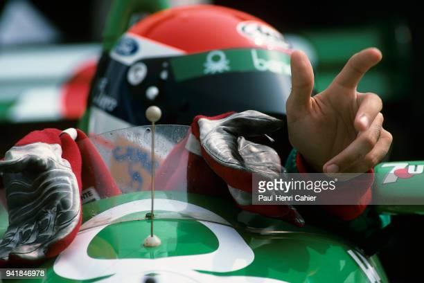 Emanuele Pirro BenettonFord B188 OR BenettonFord B189 Grand Prix of Hungary Hungaroring 13 August 1989