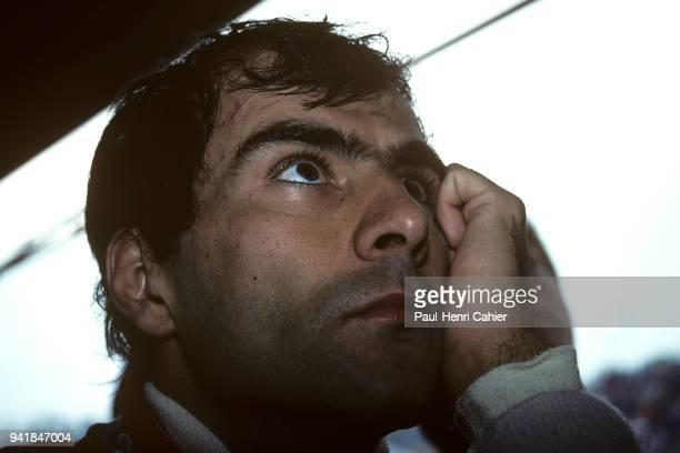 Emanuele Pirro DallaraJudd F191 Grand Prix of San Marino Autodromo Enzo e Dino Ferrari Imola 28 April 1991