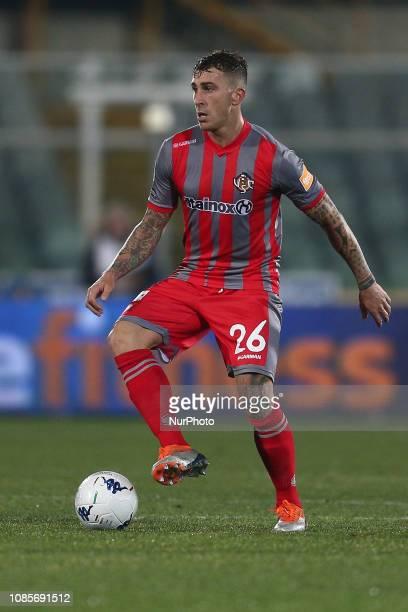 Emanuele Terranova US Cremonese during the Italian Serie B 2018/2019 match between Pescara Calcio 1936 FC and US Cremonese at Stadio Adriatico...