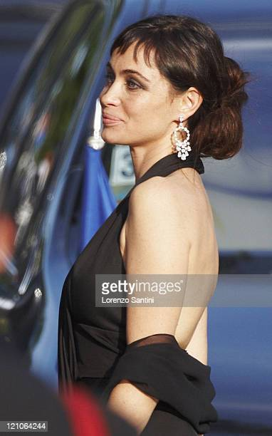 Emanuelle Beart sighting at the 61st Cannes International Film Festival on May 23 2008 in Cannes France