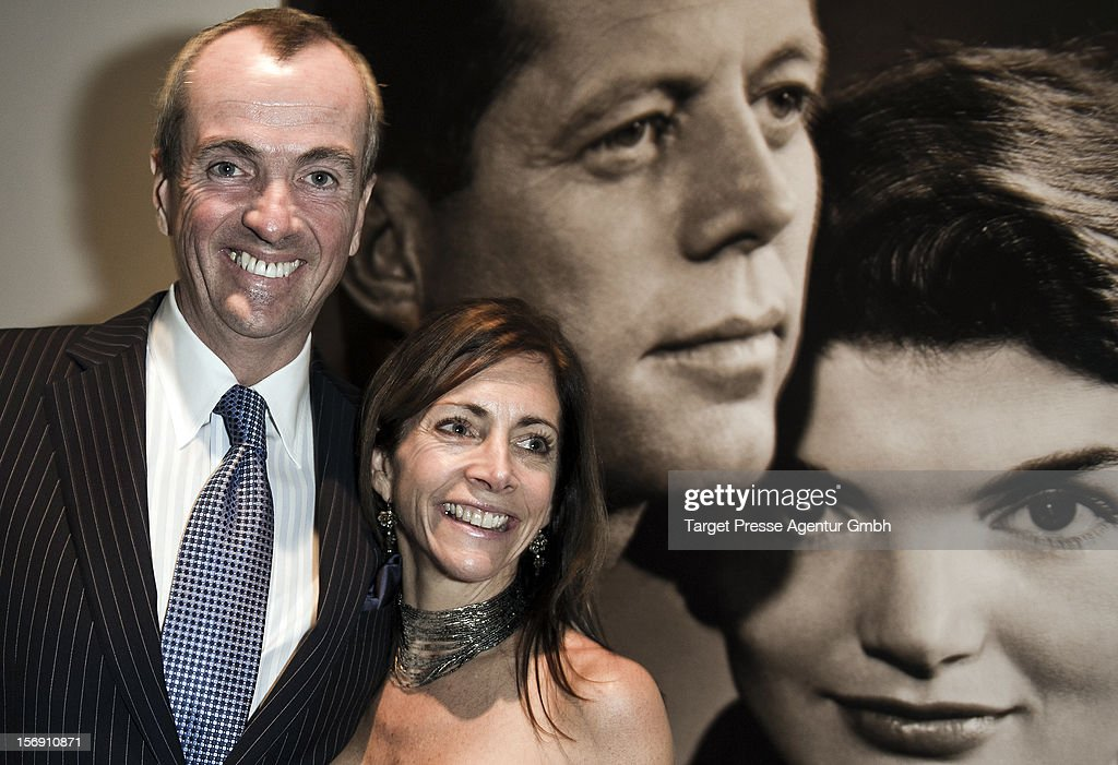 U.S. Embassador Philip Murphy and his wife Tammy Murphy attend the Re-Opening of the JFK Museum Berlin on November 24, 2012 in Berlin, Germany.