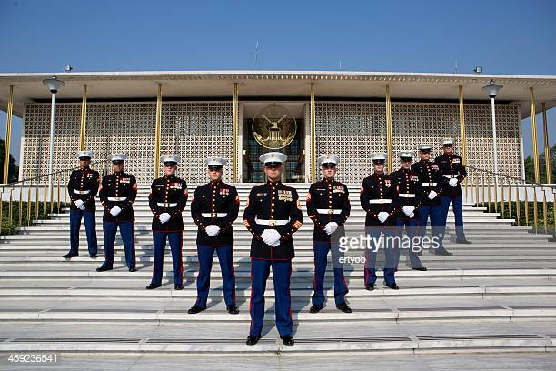 embassy - marines stock pictures, royalty-free photos & images