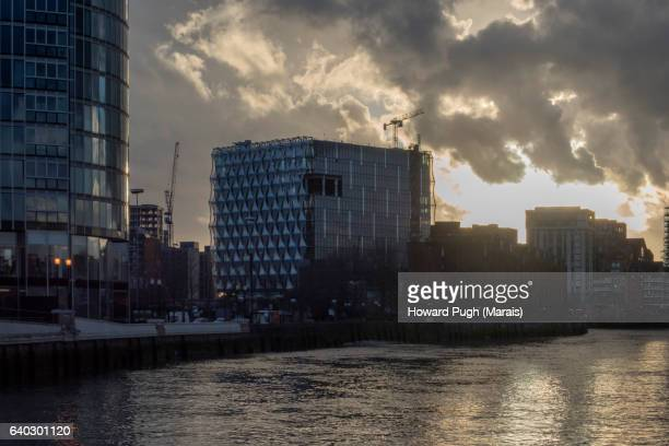 US Embassy, Riverside Walk and Nine Elms Urban landscapes