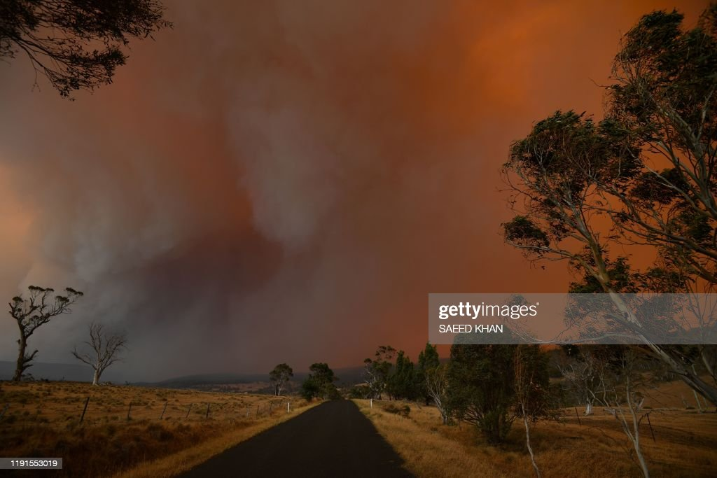 AUSTRALIA-WEATHER-FIRES : News Photo