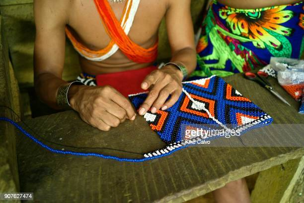 Embera communities are scattered in this border wilderness largely protected in national parks including 318000 acre Chagres National Park and...