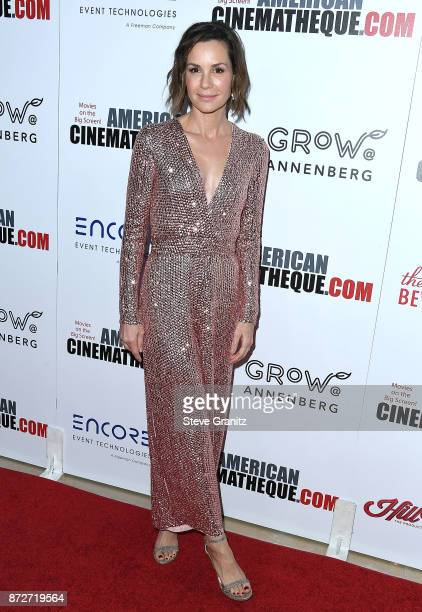 Embeth Davidtz arrives at the 31st Annual American Cinematheque Awards Gala at The Beverly Hilton Hotel on November 10 2017 in Beverly Hills...