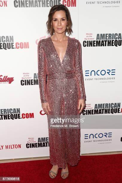Embeth Davidtz attends the 31st Annual American Cinematheque Awards Gala at The Beverly Hilton Hotel on November 10 2017 in Beverly Hills California