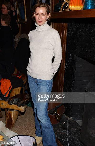 Embeth Davidtz during 2005 Park City 'Junebug' Cocktail Party at Levi's Ranch in Park City Utah United States