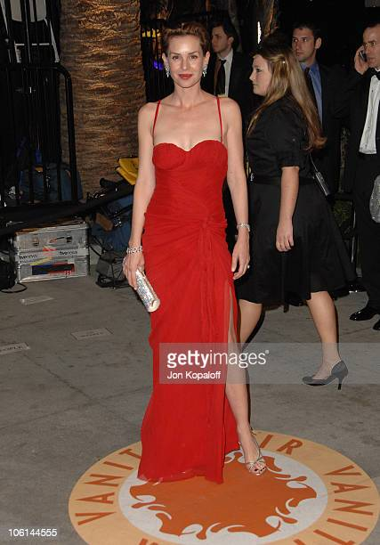 Embeth Davidtz during 2007 Vanity Fair Oscar Party Hosted by Graydon Carter at Mortons in West Hollywood California United States