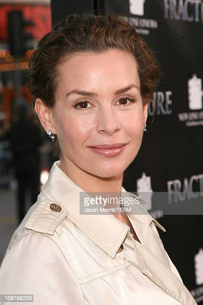 Embeth Davidtz during Fracture Los Angeles Premiere Red Carpet at Mann Village Theater in Westwood California United States