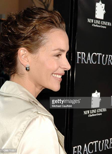 Embeth Davidtz during 'Fracture' Los Angeles Premiere Red Carpet at The Mann Village Theatre in Westwood California United States