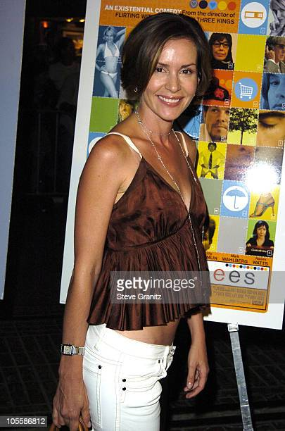 Embeth Davidtz during I Heart Huckabees Los Angeles Premiere Arrivals at The Grove in Hollywood California United States