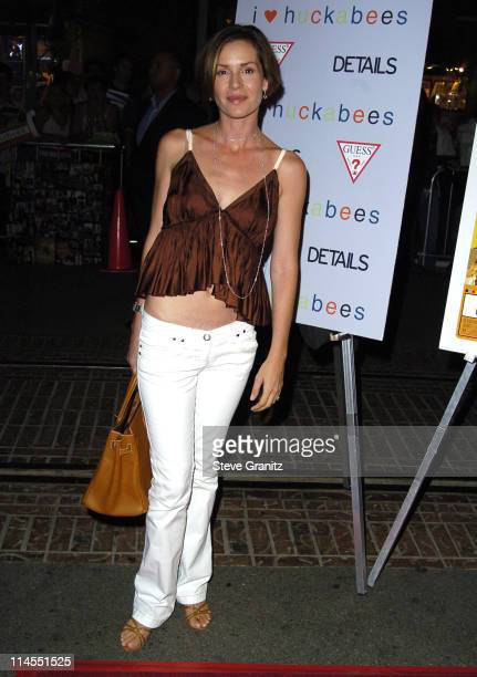 Embeth Davidtz during 'I Heart Huckabees' Los Angeles Premiere Arrivals at The Grove in Hollywood California United States