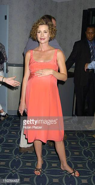 Embeth Davidtz during 'Junebug' New York City Premiere Arrivals at The Loews 19th Street Theatre in New York New York United States