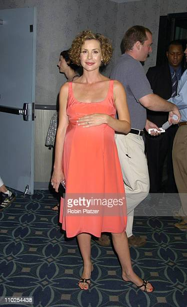 Embeth Davidtz during Junebug New York City Premiere Arrivals at The Loews 19th Street Theatre in New York New York United States