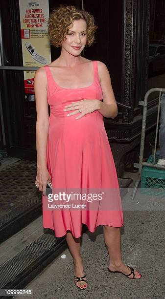 Embeth Davidtz during Junebug New York City Premiere Outside Arrivals at Loews 19th Street in New York City New York United States