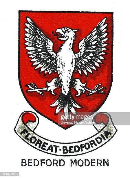 Emblem for Bedford Modern School Bedford Bedfordshire an HMC progressive independent day school The school was founded in 1834