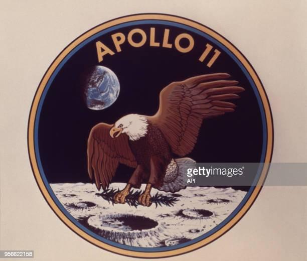 Emblème d'Apollo 11 première mission lunaire