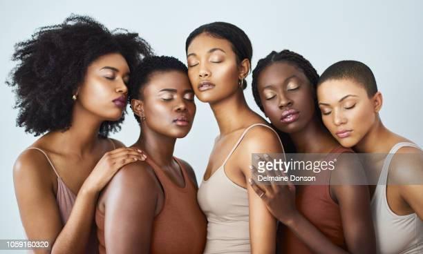 abraçar a sua individualidade, juntos - melanina - fotografias e filmes do acervo