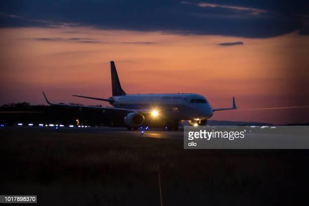 Embraer 190-100LR von Lufthansa Regional am Frankfurter Flughafen