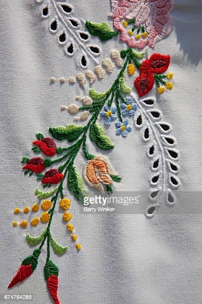 Embroidery, Budapest, Hungary