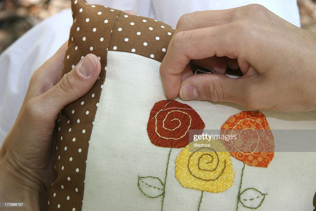 embroidery : Stock Photo