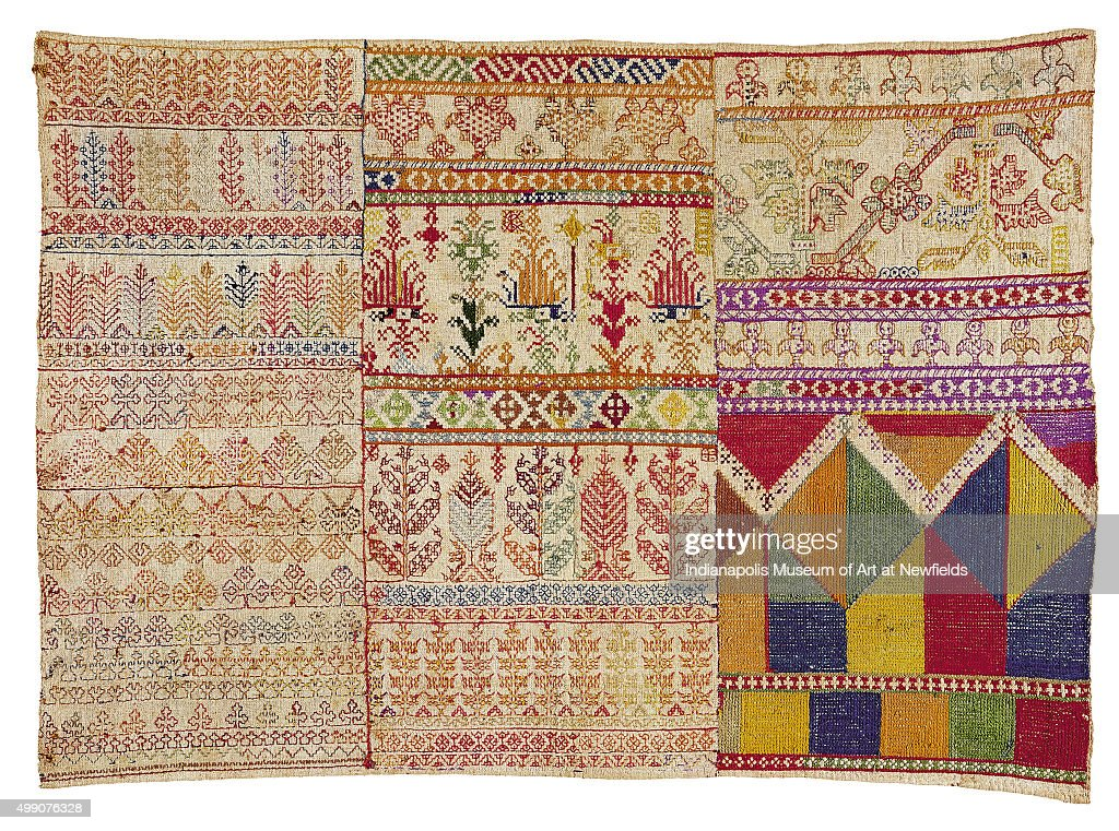 Embroidery Sampler Chelliga Pictures Getty Images