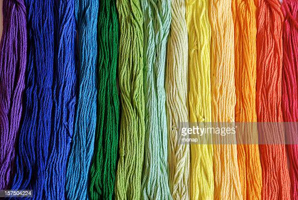 embroidery yarn - thread stock pictures, royalty-free photos & images