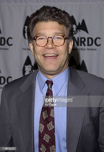 Emcee Al Franken during NRDC's 4th Annual Forces For Nature Gala Event Honoring Trudie Styler, Dan Tishman And Gary Trudeau With Performance By James...