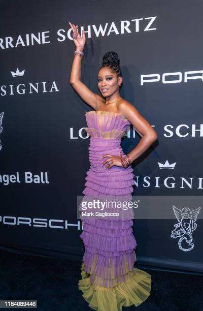 Emcee Keke Palmer attends the Angel Ball 2019 at Cipriani Wall Street on October 28 2019 in New York City