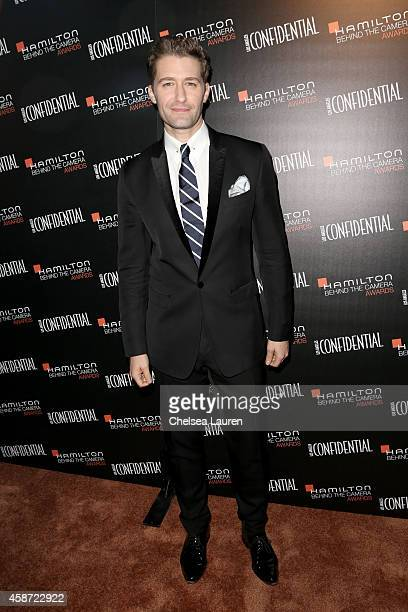 Emcee Matthew Morrison attends The 2014 Hamilton Behind the Camera Awards presented by Hamilton Watch and LA Confidential at The Wilshire Ebell...