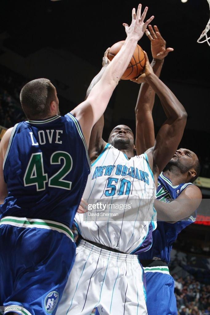 New Orleans Hornets v Minnesota Timberwolves