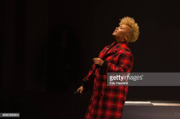 Emeli Sandé performs at Brixton Academy on March 21 2017 in London United Kingdom
