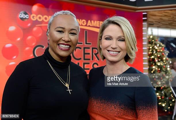 AMERICA Emeli Sandé performs live on 'Good Morning America' 11/29/16 airing on the ABC Television Network EMELI