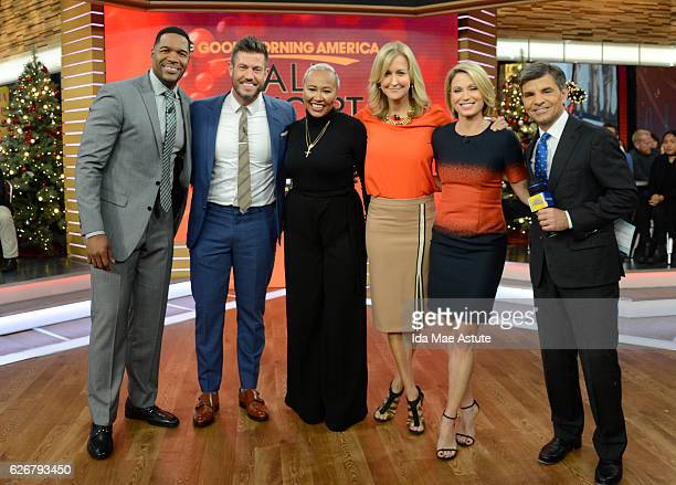 AMERICA Emeli Sandé performs live on 'Good Morning America' 11/29/16 airing on the ABC Television Network MICHAEL