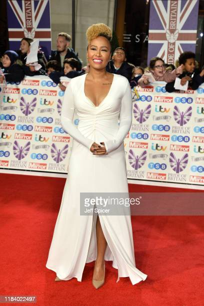 Emeli Sande attends Pride Of Britain Awards 2019 at The Grosvenor House Hotel on October 28 2019 in London England
