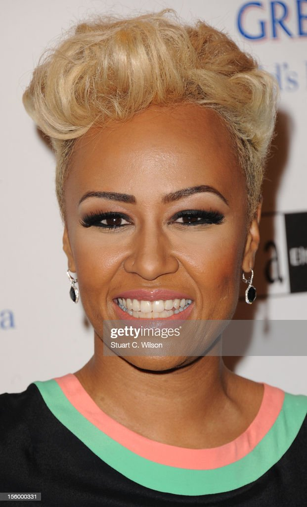 Emeli Sande attends the Grey Goose Winter Ball at Battersea Power station on November 10, 2012 in London, England.