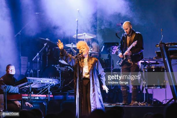 Emeli Sande performs at O2 Academy on March 22 2017 in Leeds United Kingdom