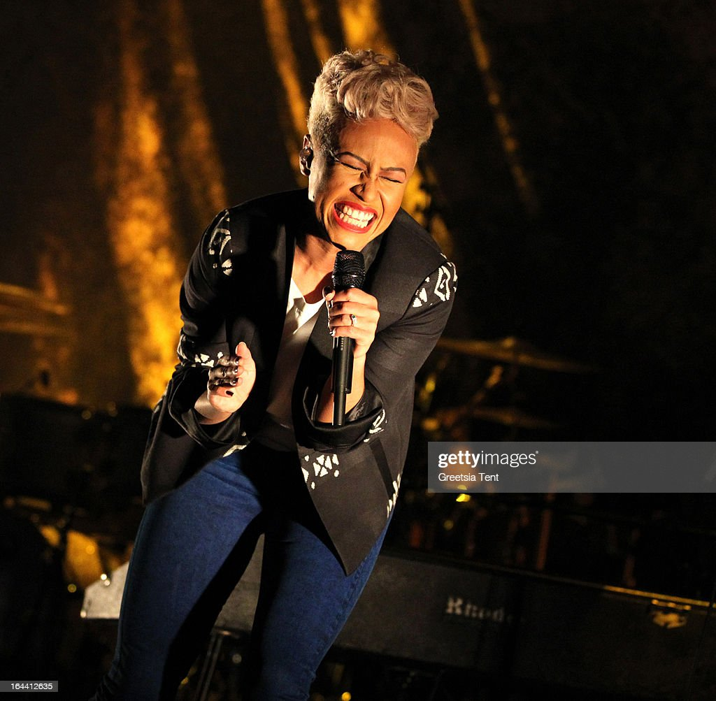 Emeli Sande performs at Paradiso on March 23, 2013 in Amsterdam, Netherlands.