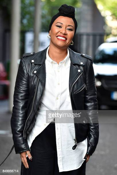 Emeli Sande seen at the ITV Studios on September 20 2017 in London England
