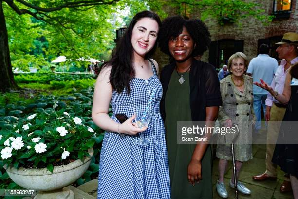 Emelie Latzer and Celeste Samson attend A Country House Gathering To Benefit Preservation Long Island on June 28 2019 in Locust Valley New York