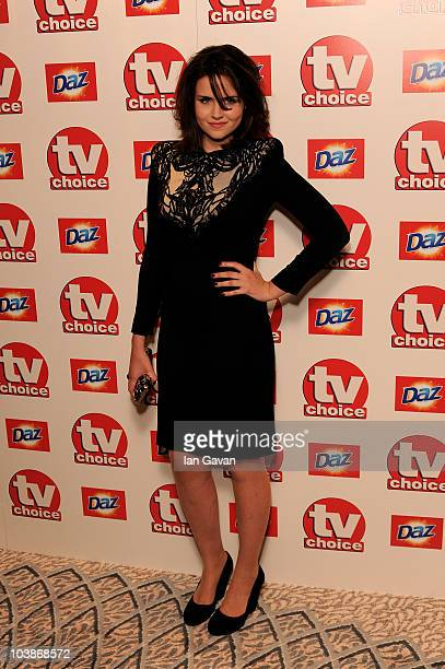Emer Kenny arrives at the TV Choice Awards 2010 at The Dorchester on September 6, 2010 in London, England.
