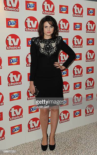 Emer Kenny Arrives At The Tv Choice Awards 2010 At The Dorchester Hotel, London.